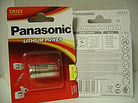 Батарейка Panasonic CR 123А Lithium 3V