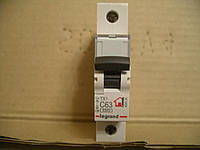 Legrand Автомат. выключатель TXC63А-1Полюс 6 кА