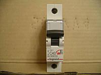 Legrand Автомат. выключатель TXC40А-1Полюс 6 кА
