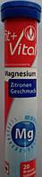 Шипучие таблетки-витамины Fit+Vital Magnesium/магнием 20шт