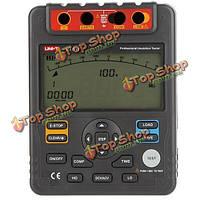 UNI-T UT511 1000В 10gohm цифровой тестер сопротивления изоляции метр мегомметра Низкоомный омметр вольтметр