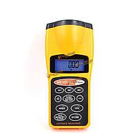 Дальномер ультразвуковой лазерный измеритель расстояния Ф-3007 цифровой LCD 18m