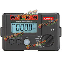 UNI-T UT-521 Цифровой тестер заземления Измеритель сопротивления заземления изоляция омметр вольтметр 2000Ω
