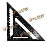 12шт скорость алюминиевого сплава квадрат стропила угол треугольника направляющая квадратная планировка