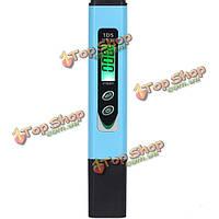 ТДС-966 цифровая ручка АТЦ типа TDs метр общей аквариумной воды растворили твердый тестер 0 ~ 9990ppm