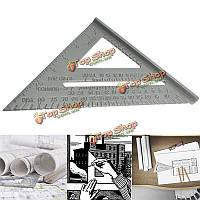 6-дюймов новый алюминиевый сплав квадрат использование в качестве измерительного инструмента транспортир митры обрамление площади