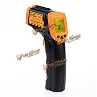 AR320 лазерная точка пушки пирометр-32 ~ 380 ℃ (-26 ~ 716 ℉) IR цифровой инфракрасный термометр бесконтактный
