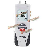 ЖК-цифровой манометр дифференциального давления воздуха