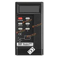 TES-1310 Термопара цифровой температурный датчик термометра тестера зонда