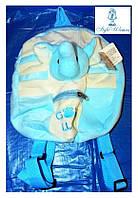 Плюшевый рюкзак Слоненок 30см