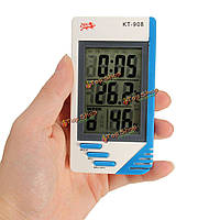 Крытый / открытый домашний офис ЖК-цифровой измеритель температуры влажности термометр