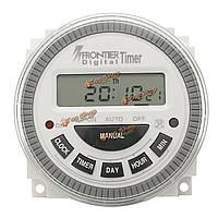 AC 220В-240В цифровой ЖК питания программируемый таймер электронный таймер
