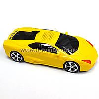 Портативная mp3 колонка жёлтая (портативные usb колонки) 5081 Lamborgini