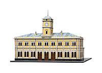 Картонная модель Николаевский вокзал (г. Москва) 356 Умная бумага