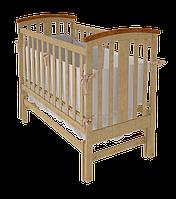Детская кроватка Woodman Mia натуральная