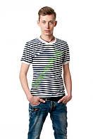 Стильная облегающая футболка  АРМИЯ