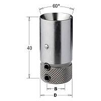 Патрон для сверлильно-присадочных станков L =40 мм, D = 19,4 мм.