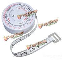 ИМТ Индекс Массы тела выдвижной рулеткой & калькулятор для диетпитания потери веса