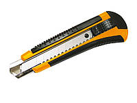 Нож трафаретный 18 мм,2 запасных лезвия в блистере L2510 Leo