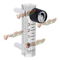 Lzq-2 3lpm пластиковый расходомер воздуха регулирующий клапан с разъемом