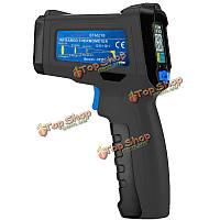 -30-550 ℃ портативный бесконтактный инфракрасный термометр цветной жидкокристаллический дисплей измеритель пушка цифровой регулятор темпе