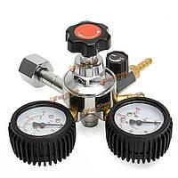 Регулятор давления газа двойная колея co2 для доморощенного проекта соды набор пива kegerator kegging