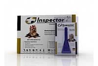 Капли Inspector ( Инспектор )для собак менее 4 кг, от внешних и внутренних паразитов, 1 пипетка