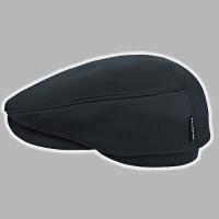 Кепка мужская чёрная реглан из плащёвки 58-59