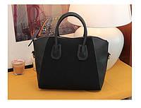 Стильная женская сумка нубук с замшевой вставкой МОДА 2016