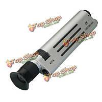 Оптический прицел 400x коэффициент увеличения сл зажигать волокна микроскоп с LED подсветкой