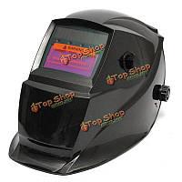 Солнечный автоматический сварочный шлем потемнения большая маска зоны обзора для дуговой сварки ВИГ миа сварного шва
