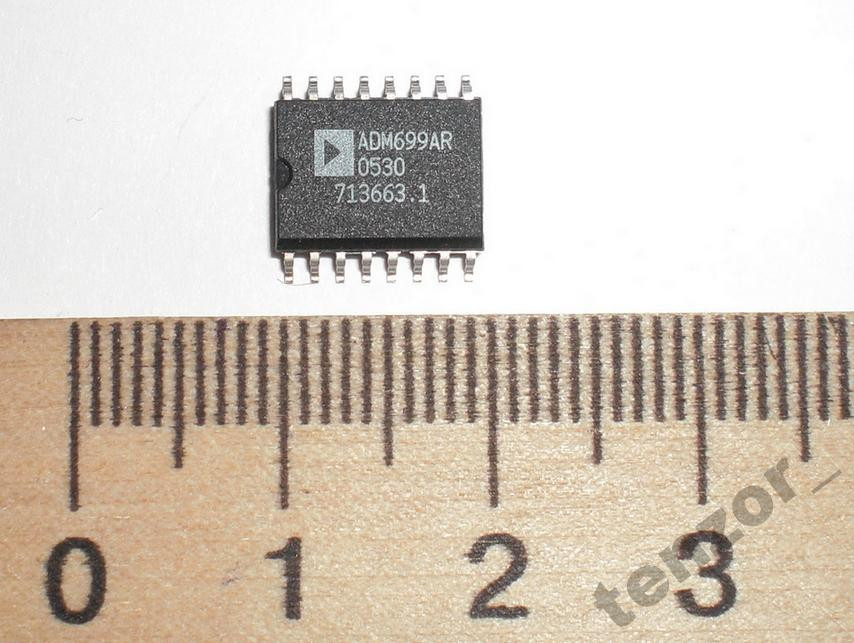 Микросхема ADM699AR Analog Devices, 1 шт.
