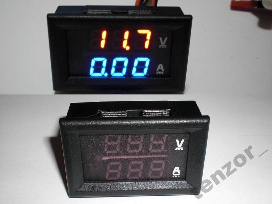 Цифровой вольтметр амперметр DC 0-100в 100a