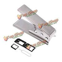 Jakemy JM-ct0-11 белый универсальный микро сим-карты резак набор для iPhone большей телефону