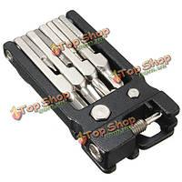 19в1 портативный мульти инструменты ремонта комплект шестигранный ключ отвертки гаечный ключ