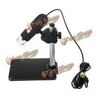 400x AV/TV порт цифровой микроскоп Лупа с 8-LED белого света ca1t