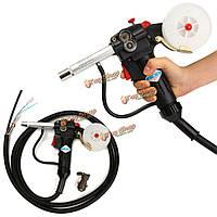 Золотник пистолет защитного газа сварочной горелки двухтактный алюминиевая горелка с кабелем 3м