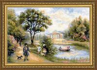 Набор для вышивания крестом «Прогулка в парке» (1527)