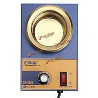 См380А 220В 250Вт 80мм припой для пайки нержавеющей стали плавильной печи горшок