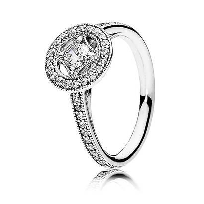 Кольцо «Винтажное очарование» из серебра 925 пробы