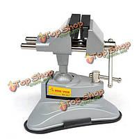 Rdeer небольшие мини-тиски rh-003 алюминия  высококлассные подвижным столом тиски могут быть повернуты 360°