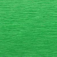 Крепированная  (креп) бумага, Cartotecnica Rossi, 180 г, Италия, № 563, зеленая