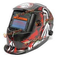 Копье смерти картина солнечной авто потемнение сварки перемалывания шлем сварщика дуги TIG MIG маску