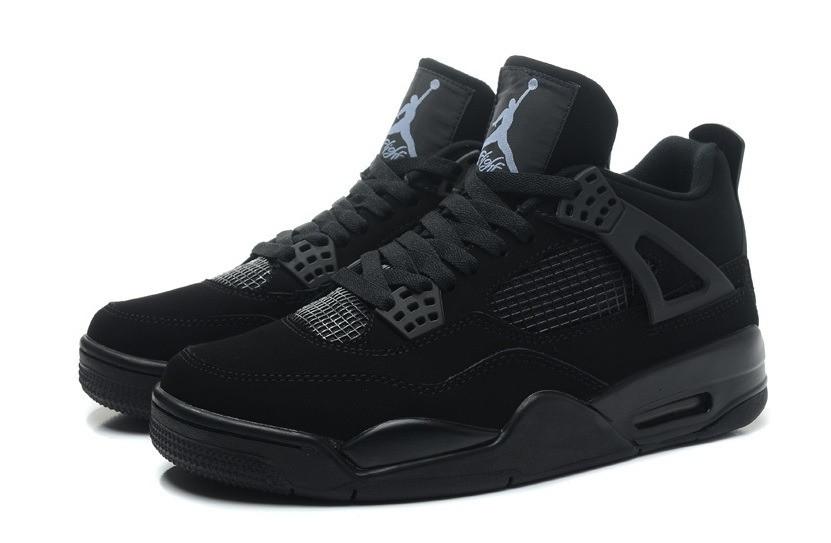 Мужские баскетбольные кроссовки Nike Air Jordan IV Retro Black (в стиле найк  аир джордан) 60b7d4bdc79