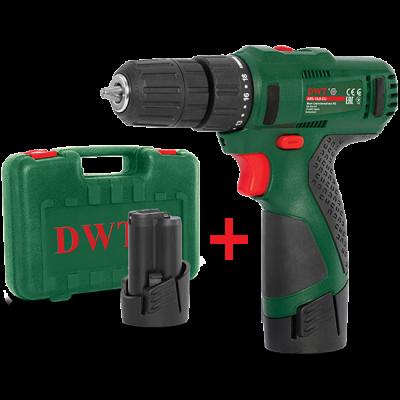 Аккумуляторный шуруповерт DWT ABS-10.8CLi2BMC
