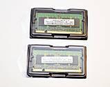 !РАСПРОДАЖА Память для ноутбука Samsung kit 1G 2x512 SO-DIMM DDR2 PC2-4200S, фото 3