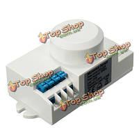 SK-601 переключатель переменного тока детектор движения датчик 220В-240В 5.8GHz СВЧ-радар корпус ВЧ света