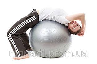 Мяч для фитнеса 65см, Гимнастический мяч, фитбол, фото 3