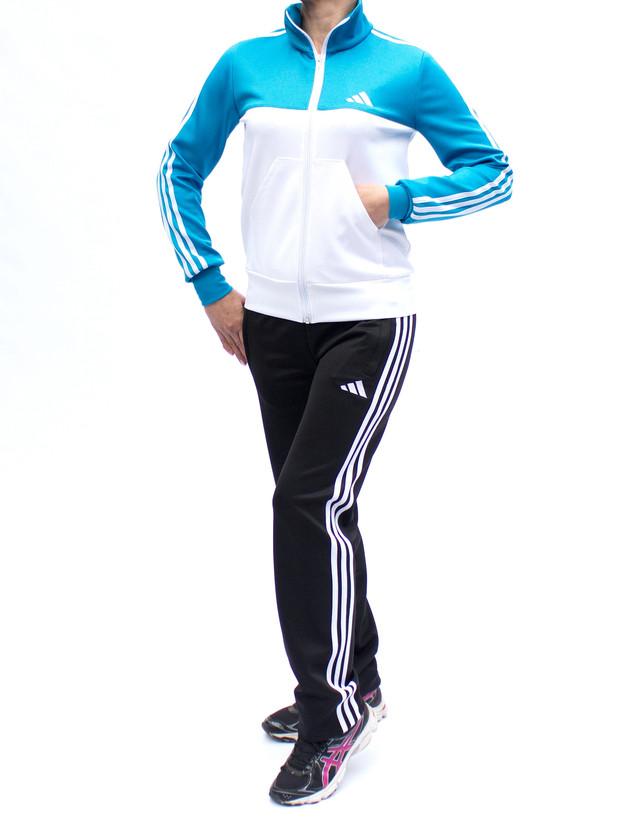 Модный спортивный костюм женский - цвета бирюза,белый,черный - фото teens.ua