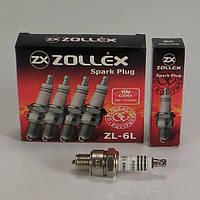 Свечи зажигания ГАЗ, УАЗ, РАФ, Мотоблоки Zollex ZL-6L